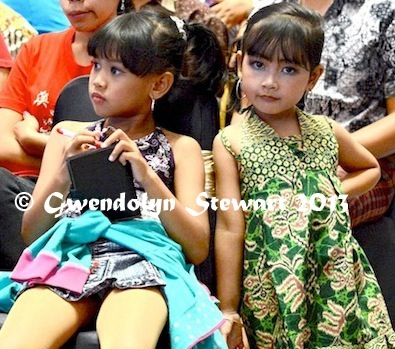 In the  Audience at a Beauty Contest at the Plaza Ambarrukmo, Yogyakarta,  Indonesia, Photographed by Gwendolyn Stewart c. 2014; All Rights  Reserved
