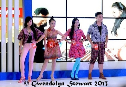 Beauty Contest at the Ambarrukmo Mall, Yogyakarta, Indonesia, Photographed by Gwendolyn Stewart,c. 2014; All Rights Reserved
